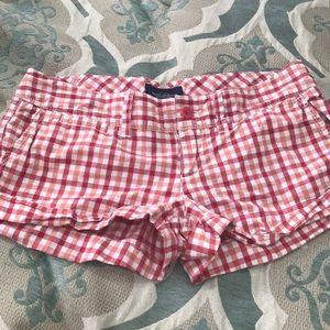 American Eagle favorite plaid shorts